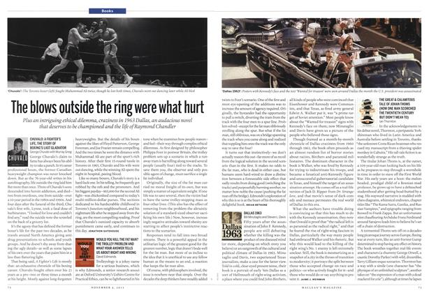 Article Preview: The blows outside the ring were what hurt, November 2013 | Maclean's