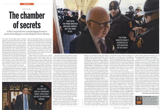 Article Preview: The chamber of secrets, November 2013 | Maclean's
