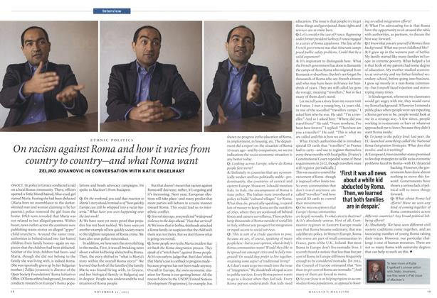 Article Preview: On racism against Roma and how it varies from country to country—and what Roma want, November 2013 | Maclean's