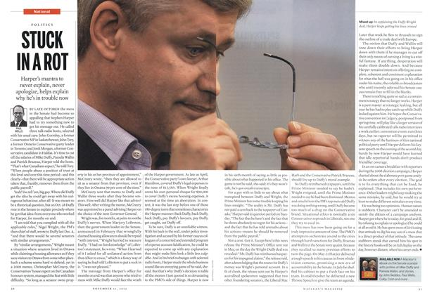 Article Preview: STUCK IN A ROT, November 2013 | Maclean's