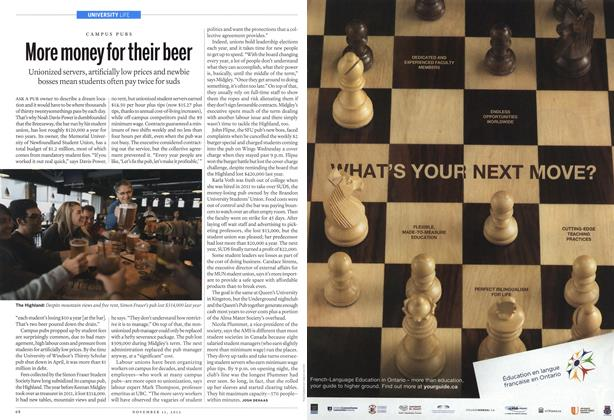 Article Preview: More money for their beer, November 2013 | Maclean's