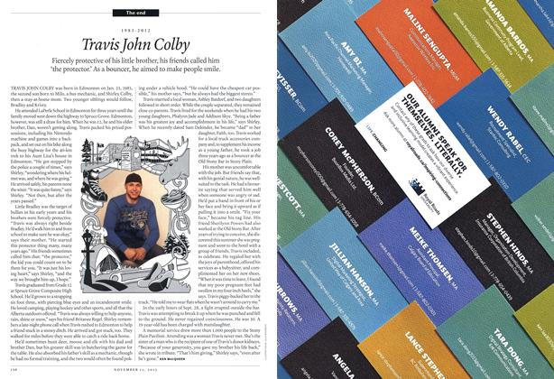 Article Preview: Travis John Colby, November 2013 | Maclean's