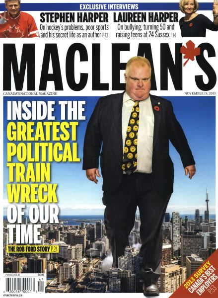 Issue: - November 2013 | Maclean's