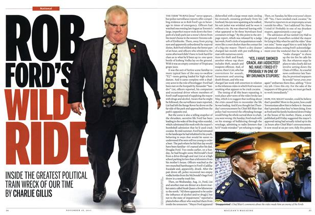 Article Preview: ROB FORD'S WILD RIDE, November 2013 | Maclean's