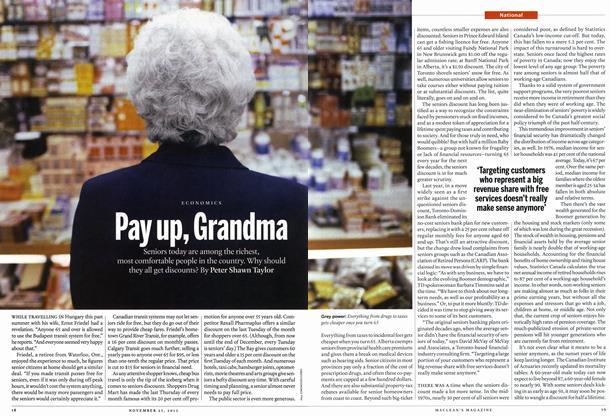 Article Preview: Pay up, Grandma, November 2013 | Maclean's