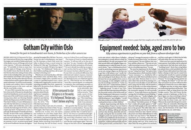 Article Preview: Equipment needed: baby, aged zero to two, November 2013 | Maclean's