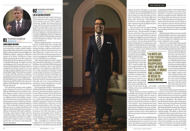 Article Preview: 02 NAHEED NENSHI, December 2013 | Maclean's