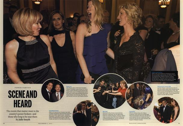 Article Preview: SCENE AND HEARD, December 2013 | Maclean's
