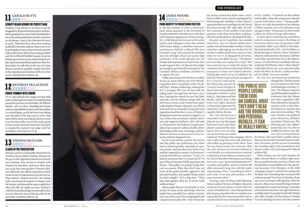 Article Preview: 14 JAMES MOORE, December 2013 | Maclean's