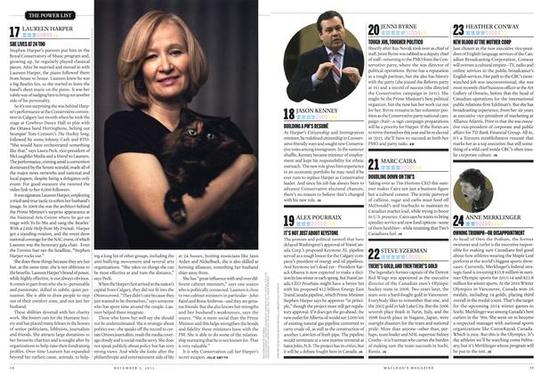 Article Preview: 17 LAUREEN HARPER, December 2013 | Maclean's