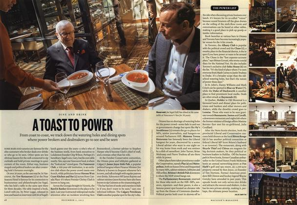 Article Preview: A TOAST TO POWER, December 2013 | Maclean's