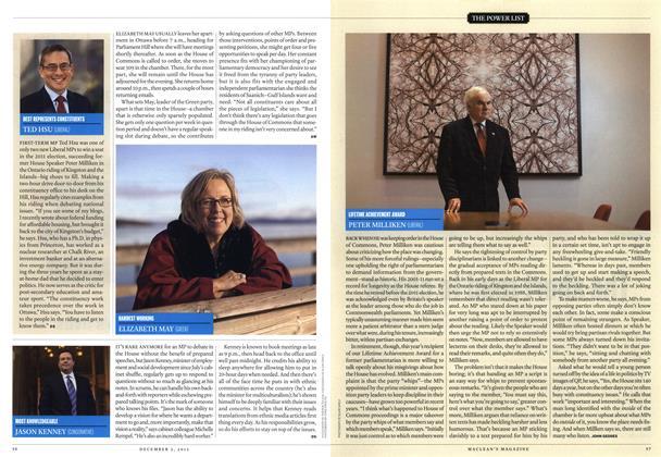 Article Preview: LIFETIME ACHIEVEMENT AWARD, December 2013 | Maclean's