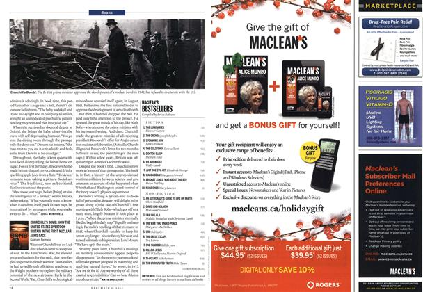 Article Preview: MACLEAN'S BESTSELLERS, December 2013 | Maclean's