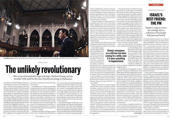 Article Preview: ISRAEL'S BEST FRIEND: THE PM, December 2013 | Maclean's