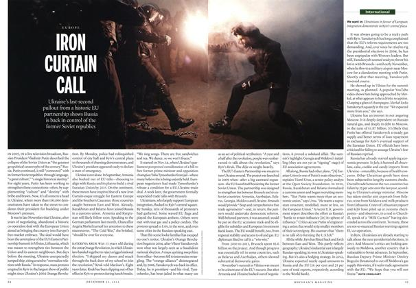 Article Preview: IRON CURTAIN CALL, December 2013 | Maclean's