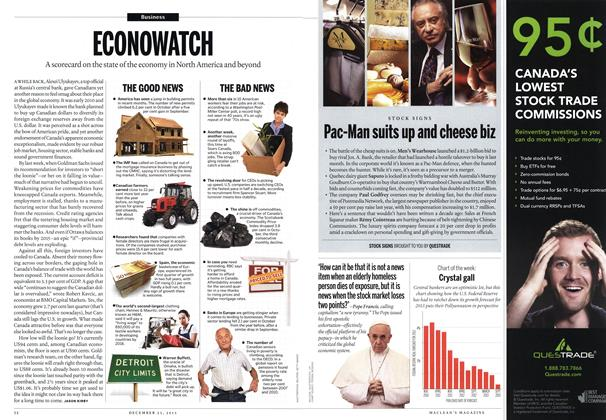 Article Preview: ECONOWATCH, December 2013 | Maclean's