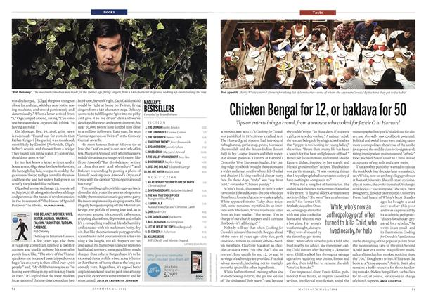 Article Preview: Chicken Bengal for 12, or baklava for 50, December 2013 | Maclean's
