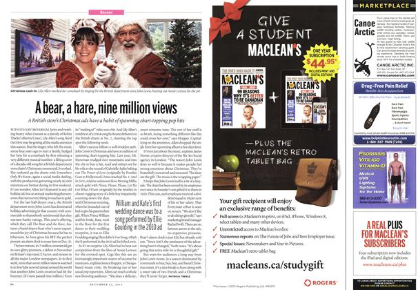 Article Preview: A bear, a hare, nine million views, December 2013 | Maclean's