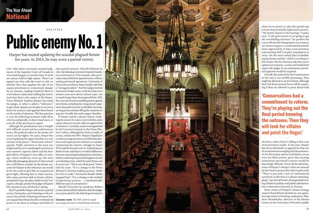Article Preview: Public enemy No. 1, DECEMBER 30, 2013 & JANUARY 6, 2014 2013 | Maclean's