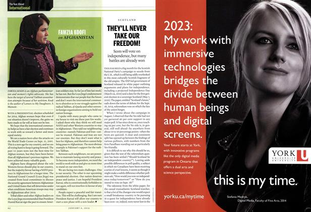 Article Preview: THEY'LL NEVER TAKE OUR FREEDOM!, DECEMBER 30, 2013 & JANUARY 6, 2014 2013 | Maclean's