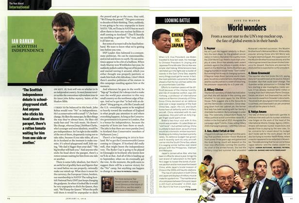 Article Preview: IAN RANKIN on SCOTTISH INDEPENDENCE, DECEMBER 30, 2013 & JANUARY 6, 2014 2013 | Maclean's