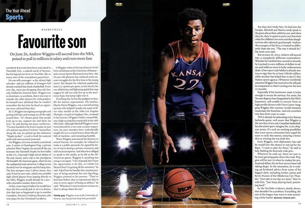 Article Preview: Favourite son, DECEMBER 30, 2013 & JANUARY 6, 2014 2013   Maclean's