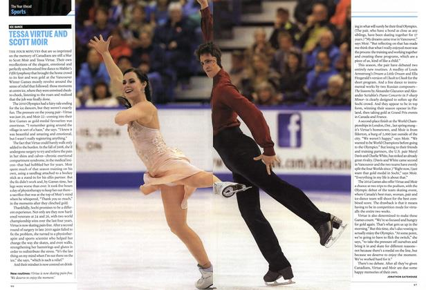 Article Preview: TESSA VIRTUE AND SCOTT MOIR, DECEMBER 30, 2013 & JANUARY 6, 2014 2013 | Maclean's