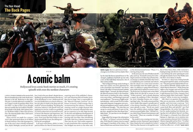 Article Preview: A comic balm, DECEMBER 30, 2013 & JANUARY 6, 2014 2013 | Maclean's