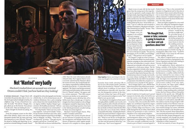 Article Preview: Not'Wanted'very badly, January 2014 | Maclean's