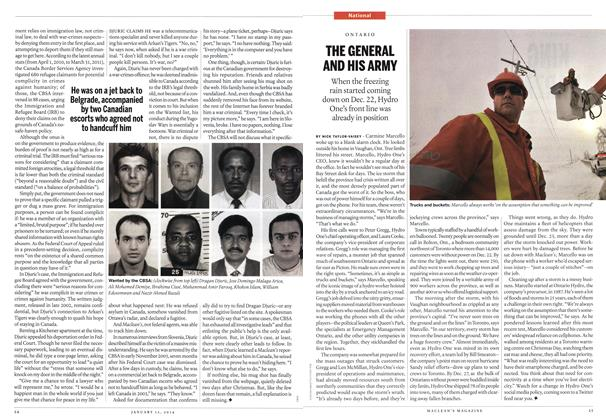 Article Preview: THE GENERAL AND HIS ARMY, January 2014 | Maclean's