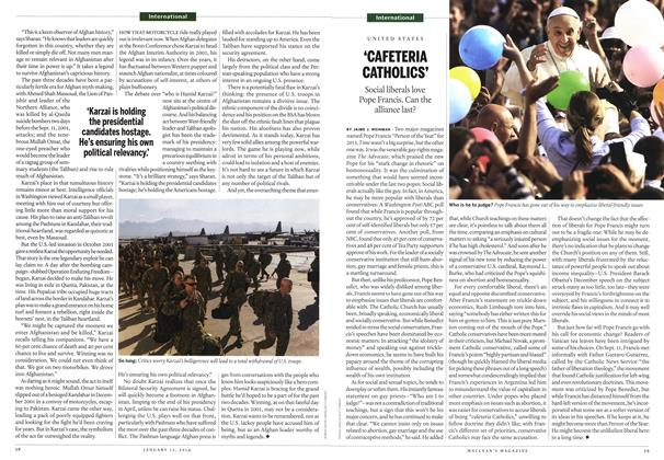 Article Preview: 'CAFETERIA CATHOLICS', January 2014 | Maclean's