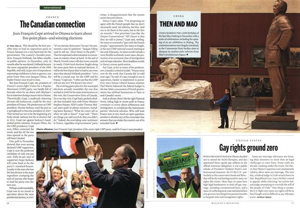 Article Preview: The Canadian connection, January 2014 | Maclean's