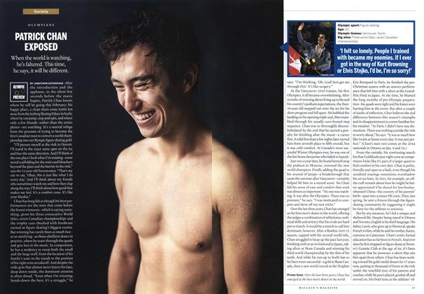 Article Preview: PATRICK CHAN EXPOSED, January 2014 | Maclean's
