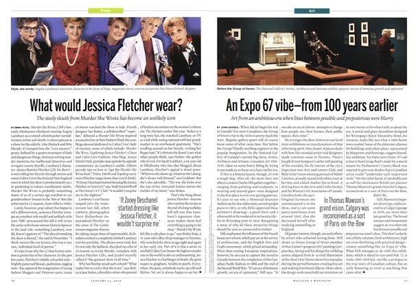 Article Preview: What would Jessica Fletcher wear?, January 2014 | Maclean's
