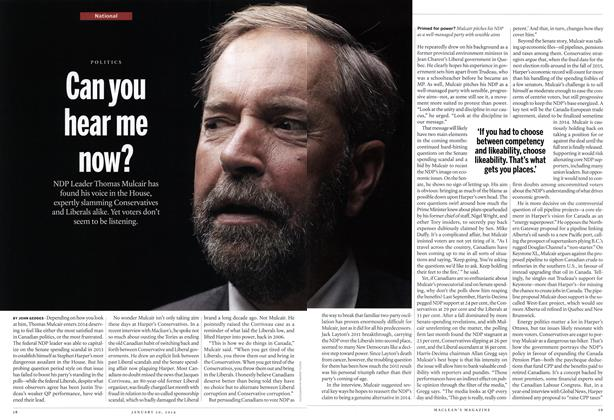 Article Preview: Can you hear me now?, January 2014 | Maclean's
