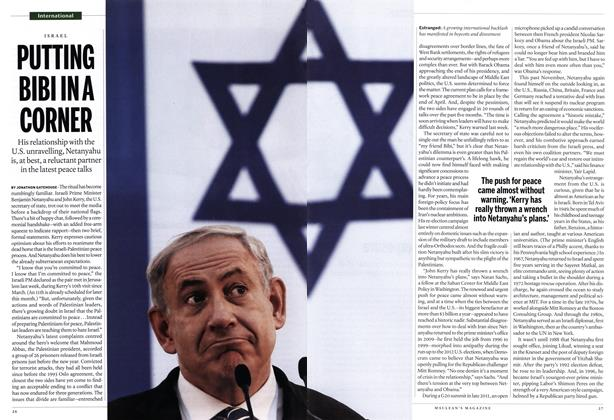 Article Preview: PUTTING BIBI INA CORNER, January 2014 | Maclean's