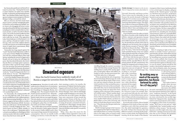 Article Preview: Unwanted exposure, January 2014 | Maclean's