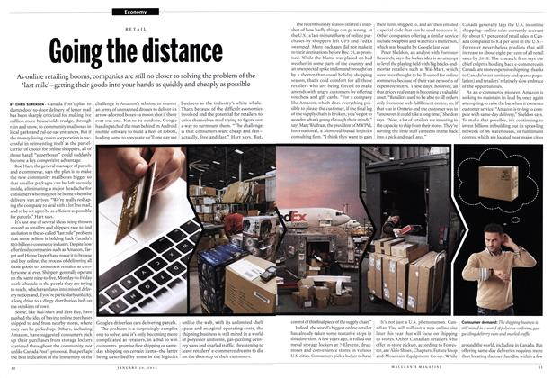 Article Preview: Going the distance, January 2014 | Maclean's