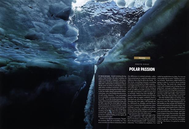 Article Preview: POLAR PASSION, January 2014 | Maclean's