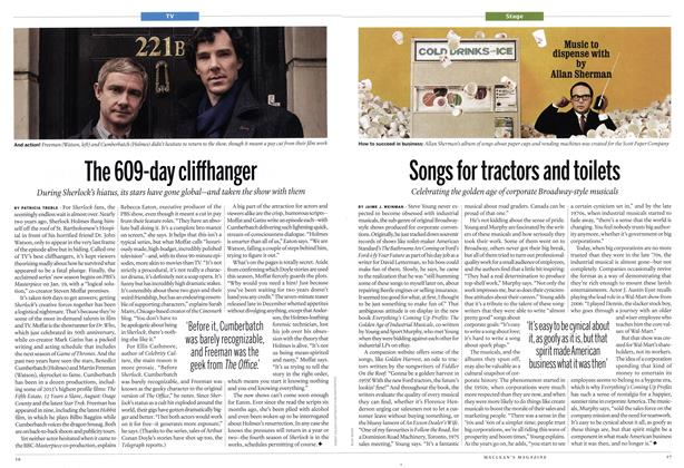 Article Preview: Songs for tractors and toilets, January 2014 | Maclean's
