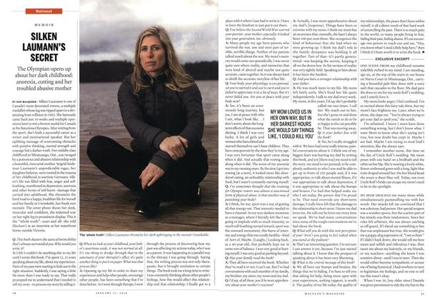 Article Preview: SILKEN LAUMANN'S SECRET, January 2014 | Maclean's