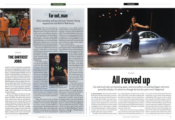 Article Preview: All revved up, January 2014 | Maclean's