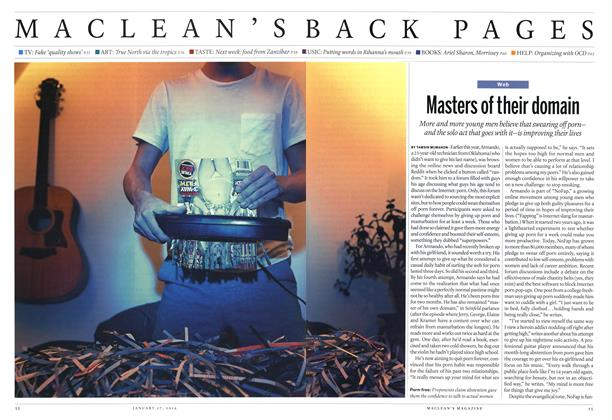 Article Preview: Masters of their domain, January 2014 | Maclean's