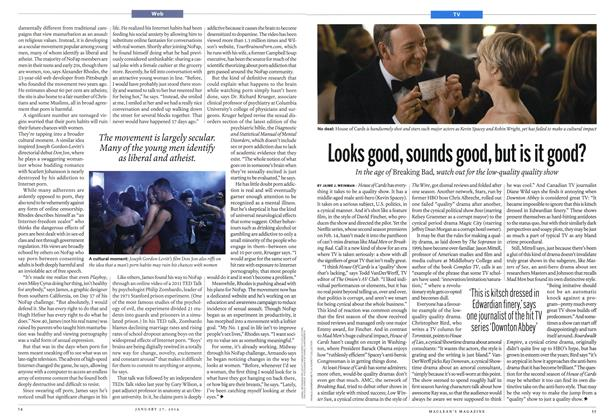 Article Preview: Looks good, sounds good, but is it good?, January 2014 | Maclean's