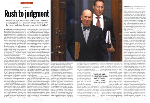 Article Preview: Rush to judgment, January 2014 | Maclean's