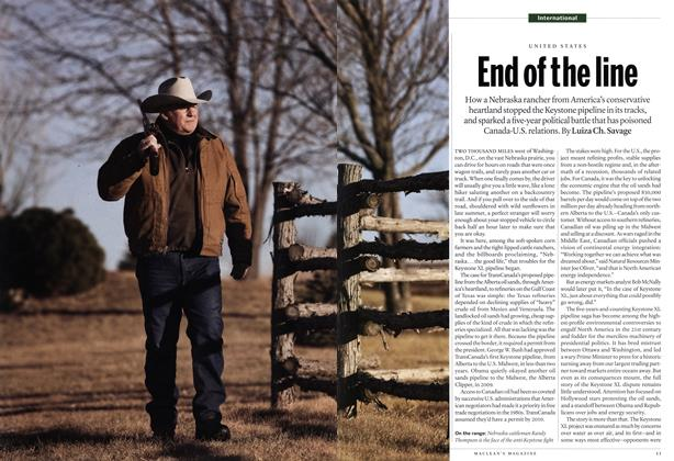 Article Preview: End of the line, February 2014 | Maclean's
