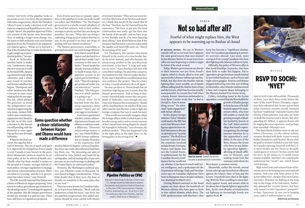 Article Preview: Not so bad after all?, February 2014 | Maclean's