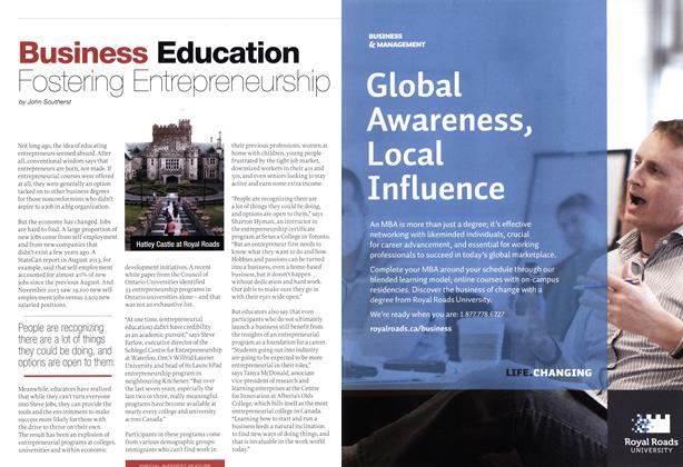 Article Preview: Fostering Entrepreneurship, February 2014 | Maclean's
