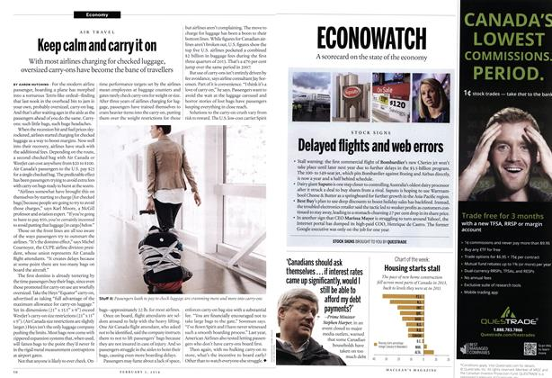 Article Preview: ECONOWATCH, February 2014 | Maclean's