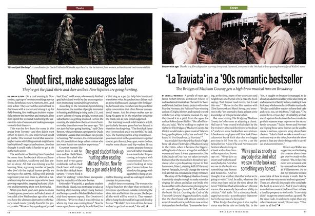Article Preview: 'La Traviata' in a '90s romantic bestseller, February 2014 | Maclean's